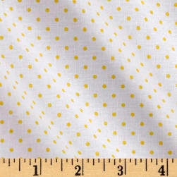 Riley Blake Swiss Dot Yellow Fabric