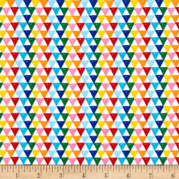 Riley Blake Colorfully Creative Jersey Knit Crayola Triangle