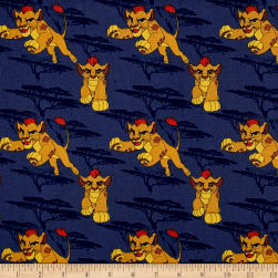 Disney Lion Guard Kion Navy Fabric