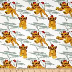Disney Lion Guard Kion Light Sage Fabric