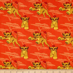 Disney Lion Guard Kion Orange Fabric