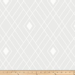 Opalescent Firework White Fabric