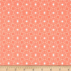 In The Woods Seeds Dark Pink Fabric