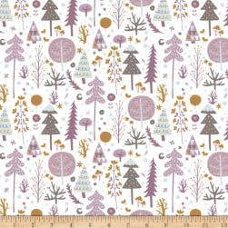 Snowfall Tundra White Fabric