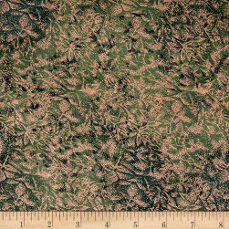 Michael Miller Fairy Frost Hunter Metallic Fabric