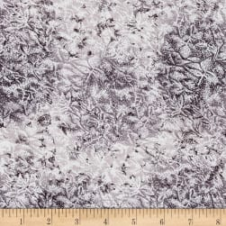 Michael Miller Fairy Frost Gunmetal Metallic Fabric