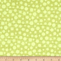 Michael Miller Hash Dot Limeade Fabric