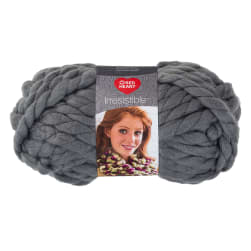 Red Heart Irresistible Yarn Grey