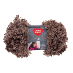 Red Heart Fur  Yarn, Mink