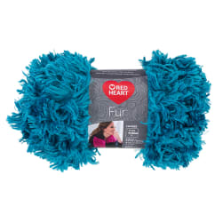 Red Heart Fur  Yarn, Seaport