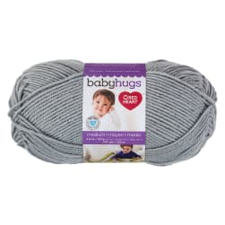 Red Heart Baby Hugs Medium Yarn, Dolphin