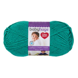 Red Heart Baby Hugs Medium Yarn Aloe