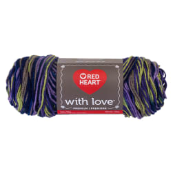 Red Heart With Love Lavender Ivy
