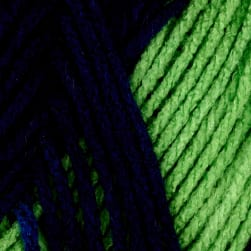 Red Heart Team Spirit Yarn, Navy/Green