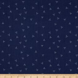 Dear Stella Honey Bee Triangle Dot Pacifica Fabric