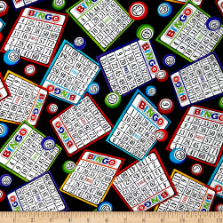 Timeless Treasures Bingo Cards Bingo Fabric
