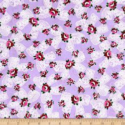 Everything But The Kitchen Sink Pinafore Lilac Fabric