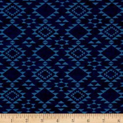 Cayenne Southwest Blanket Navy Fabric