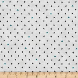 Agave Mini Triangle Dots Frog Fabric