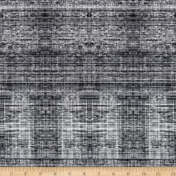 Mastery Digital Print Grid Texture Payne's Gray Fabric