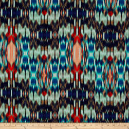 Tango Digital Print Abstract Ikat Mariposa