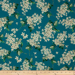 Liberty Fabrics Archive Lilac Lawn Turquoise Fabric