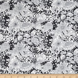 Liberty Fabrics Fairy Land Lawn Navy