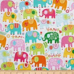 Michael Miller Happy Elephants Happy