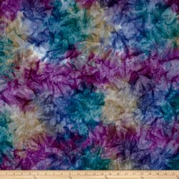 Kaufman Artisan Batiks Patina Handpaints Mottled Wineberry Fabric