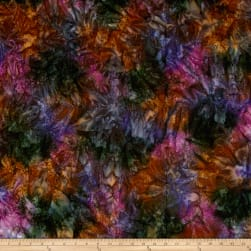 Kaufman Artisan Batiks Patina Handpaints Mottled Fig Fabric