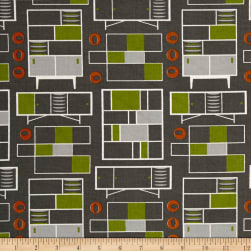 Loft Life Furniture Gray Fabric