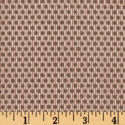 Winter is Coming Dots Lines Cream Fabric
