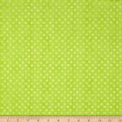 Essentials Brights Dotsy Lime Fabric