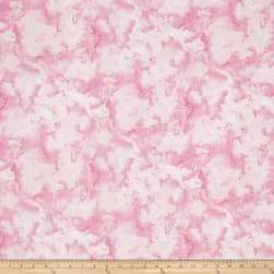 Rainbow Seeds Texture Pink Fabric