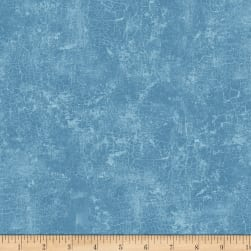 Early to Rise Texture Blue Fabric