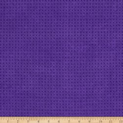 "Essential Criss Cross 60"" Flannel Dark Purple"