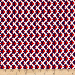 Kanvas Love American Style Spectator Plaid Red Fabric