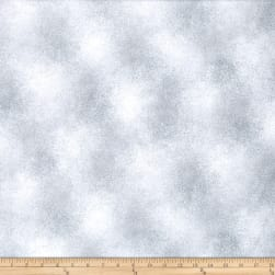 Chalk Effects Mirage White Fabric