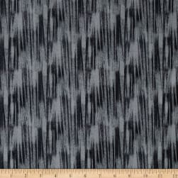 Chalk Effects Rhythm Grey Fabric
