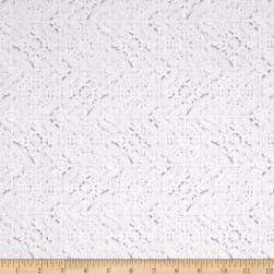 Kanvas White Out White Tiles Lt. Gray/White Fabric