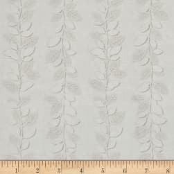 Kanvas White Out Winter Vine Taupe/White Fabric