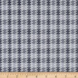 Kanvas Zoo Baby Zoo Plaid Gray