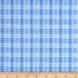 Kanvas Zoo Baby Zoo Plaid Blue