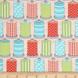 Sewing Room Spools Pink