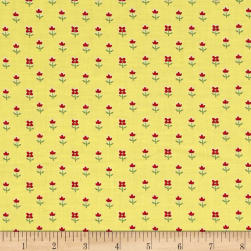 Simply Chic Floret Butter Fabric