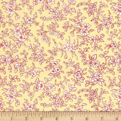 Simply Chic Blossom Butter Fabric