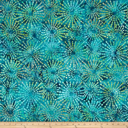 Benartex Balis Batik Sundrenched Ray of Light Dark