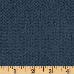 Primo Flannel Heathers Wedgewood Fabric