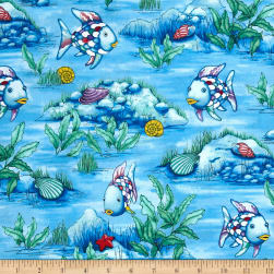 The Rainbow Fish Glitter Scenic Blue