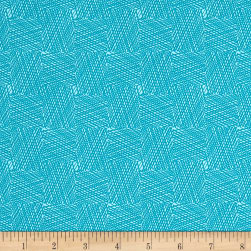 Marcus Dandy Days Got Grids Teal Fabric